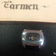 Relojes de pulsera: BOTITO, GRANDE Y CURIOSO RELOJ DIGITAL ANTIGUO DE CUERDA, PARA REPARAR O PARA PIEZAS. Lote 124239231