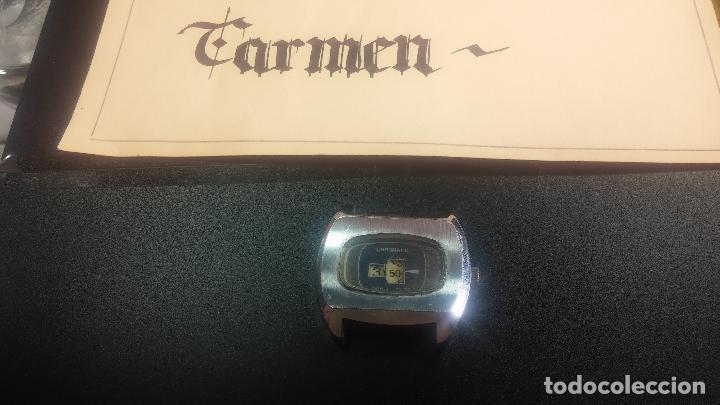 Relojes de pulsera: BOTITO, grande y curioso reloj digital antiguo de cuerda, para reparar o para piezas - Foto 16 - 124239231