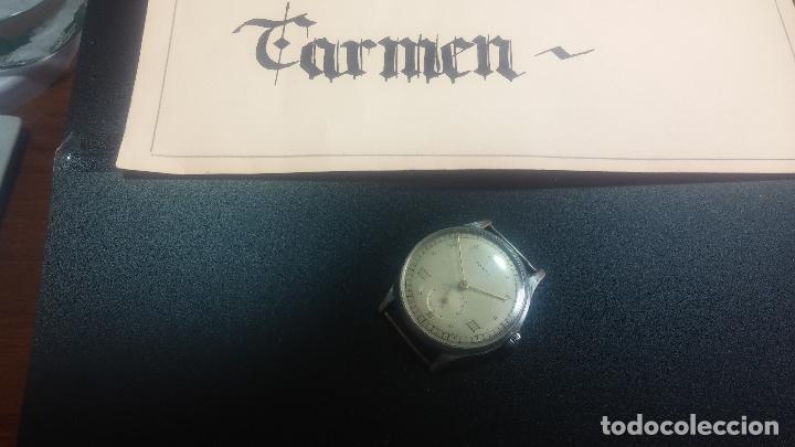 BOTITO Y GRANDE RELOJ TEGRA PARA REPARAR O PARA PIEZAS. (Relojes - Pulsera Carga Manual)
