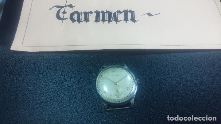 Relojes de pulsera: Botito y grande reloj TEGRA para reparar o para piezas. - Foto 2 - 124239283