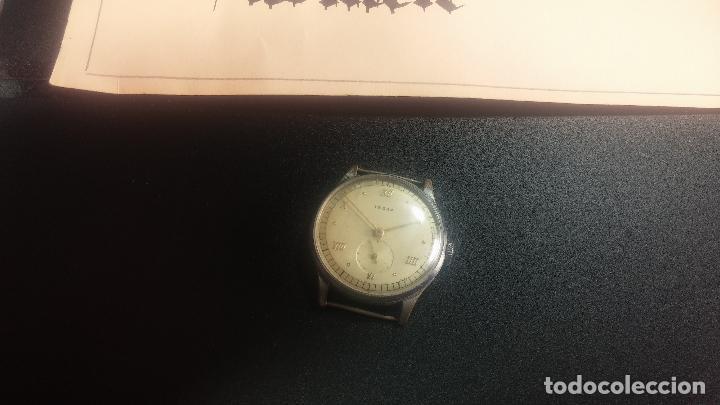 Relojes de pulsera: Botito y grande reloj TEGRA para reparar o para piezas. - Foto 4 - 124239283