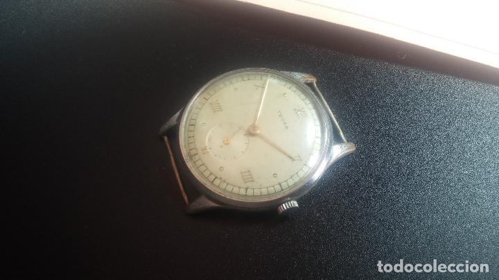 Relojes de pulsera: Botito y grande reloj TEGRA para reparar o para piezas. - Foto 5 - 124239283