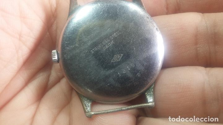 Relojes de pulsera: Botito y grande reloj TEGRA para reparar o para piezas. - Foto 20 - 124239283