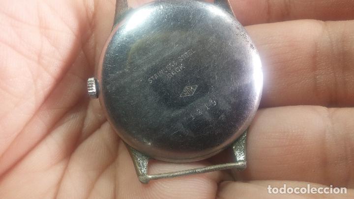 Relojes de pulsera: Botito y grande reloj TEGRA para reparar o para piezas. - Foto 21 - 124239283