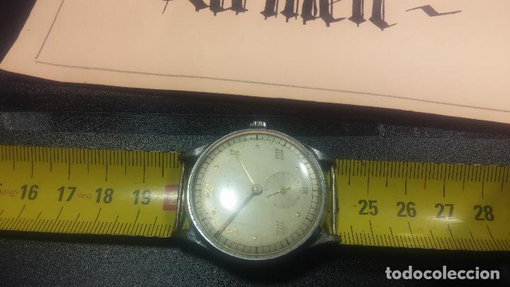 Relojes de pulsera: Botito y grande reloj TEGRA para reparar o para piezas. - Foto 24 - 124239283