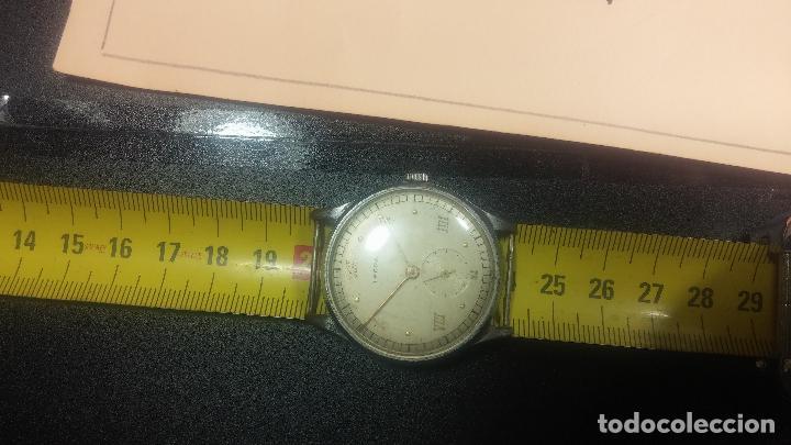 Relojes de pulsera: Botito y grande reloj TEGRA para reparar o para piezas. - Foto 25 - 124239283