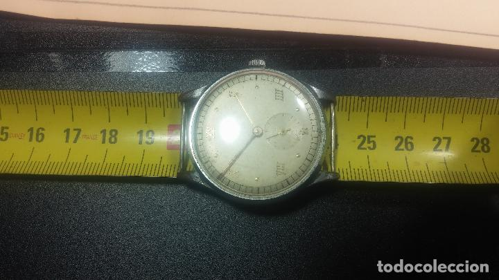 Relojes de pulsera: Botito y grande reloj TEGRA para reparar o para piezas. - Foto 26 - 124239283