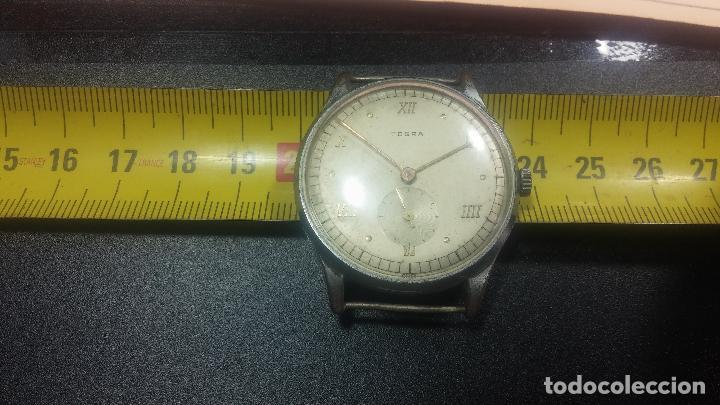 Relojes de pulsera: Botito y grande reloj TEGRA para reparar o para piezas. - Foto 29 - 124239283