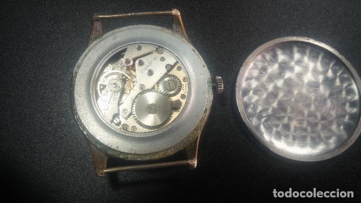 Relojes de pulsera: Botito y grande reloj TEGRA para reparar o para piezas. - Foto 31 - 124239283