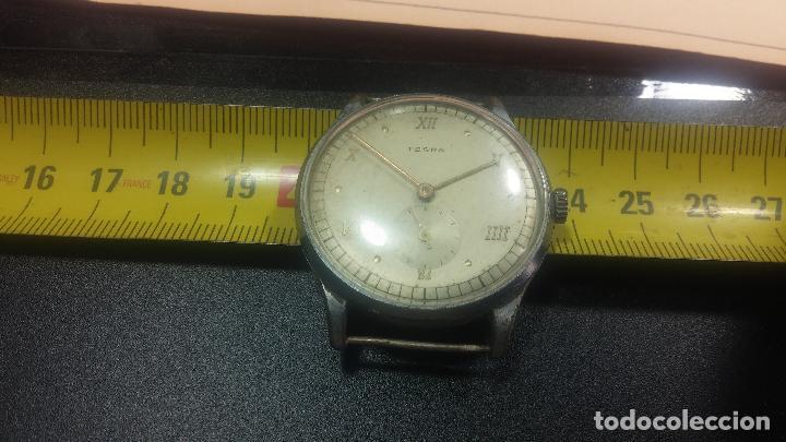Relojes de pulsera: Botito y grande reloj TEGRA para reparar o para piezas. - Foto 33 - 124239283