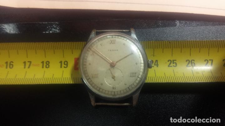 Relojes de pulsera: Botito y grande reloj TEGRA para reparar o para piezas. - Foto 34 - 124239283