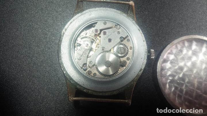 Relojes de pulsera: Botito y grande reloj TEGRA para reparar o para piezas. - Foto 39 - 124239283