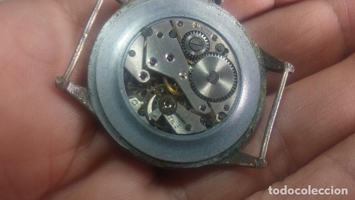 Relojes de pulsera: Botito y grande reloj TEGRA para reparar o para piezas. - Foto 40 - 124239283