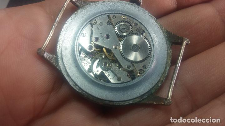 Relojes de pulsera: Botito y grande reloj TEGRA para reparar o para piezas. - Foto 41 - 124239283