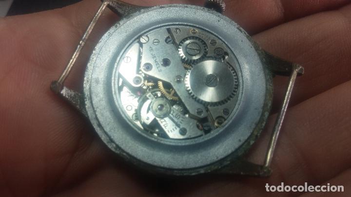Relojes de pulsera: Botito y grande reloj TEGRA para reparar o para piezas. - Foto 42 - 124239283