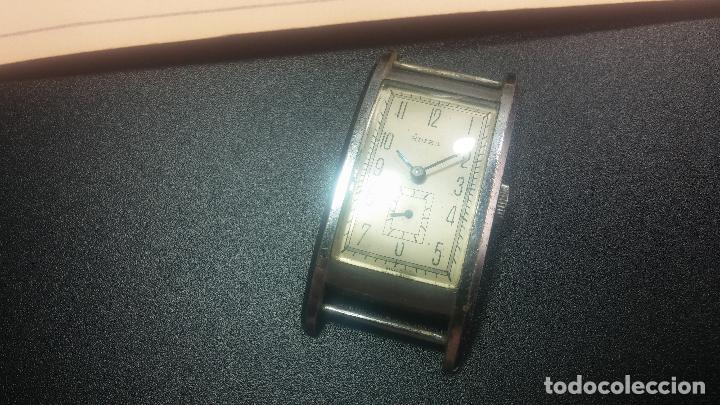 Relojes de pulsera: BOTITO RELOJ SUIZA DE CABALLERO PARA REPARAR O PARA PIEZAS - Foto 2 - 124239331