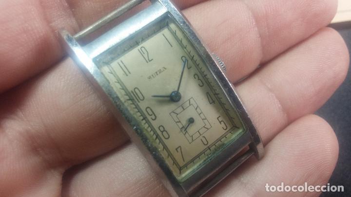 Relojes de pulsera: BOTITO RELOJ SUIZA DE CABALLERO PARA REPARAR O PARA PIEZAS - Foto 12 - 124239331