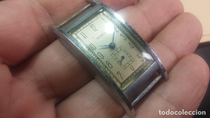 Relojes de pulsera: BOTITO RELOJ SUIZA DE CABALLERO PARA REPARAR O PARA PIEZAS - Foto 14 - 124239331