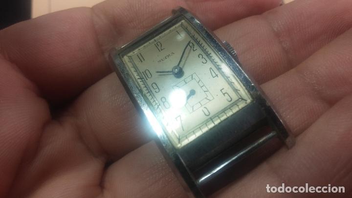 Relojes de pulsera: BOTITO RELOJ SUIZA DE CABALLERO PARA REPARAR O PARA PIEZAS - Foto 15 - 124239331