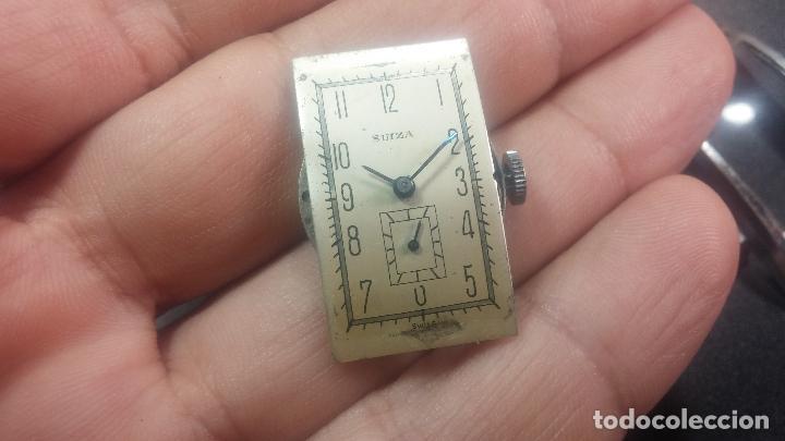 Relojes de pulsera: BOTITO RELOJ SUIZA DE CABALLERO PARA REPARAR O PARA PIEZAS - Foto 19 - 124239331