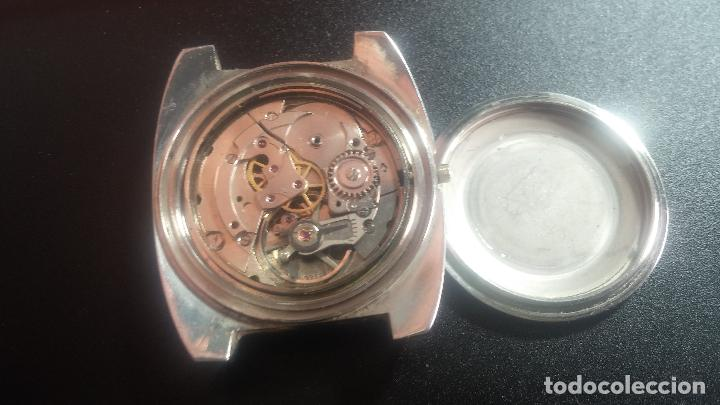 Relojes de pulsera: Botito y grande reloj CLIPER con botita esfera azul marine, para reparar o para piezas. - Foto 33 - 124239335