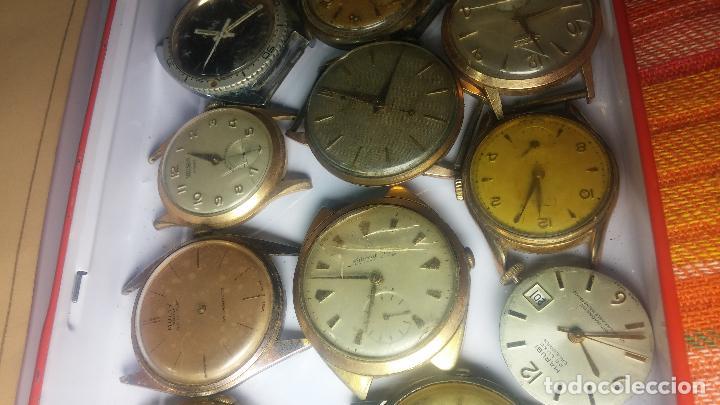 Relojes de pulsera: BOTITO GRAN LOTE DE 18 MAGNÍFICOS RELOJES ANTIGUOS PARA REPARAR O PIEZAS, MUY BARATITO A 10E UNIDAD - Foto 4 - 124334523