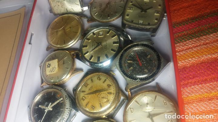 Relojes de pulsera: BOTITO GRAN LOTE DE 18 MAGNÍFICOS RELOJES ANTIGUOS PARA REPARAR O PIEZAS, MUY BARATITO A 10E UNIDAD - Foto 6 - 124334523