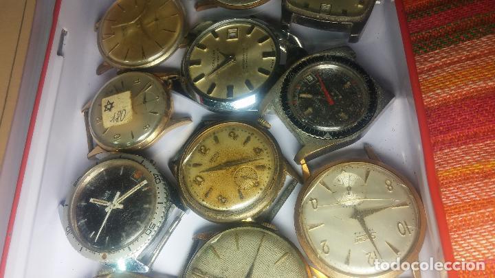 Relojes de pulsera: BOTITO GRAN LOTE DE 18 MAGNÍFICOS RELOJES ANTIGUOS PARA REPARAR O PIEZAS, MUY BARATITO A 10E UNIDAD - Foto 8 - 124334523