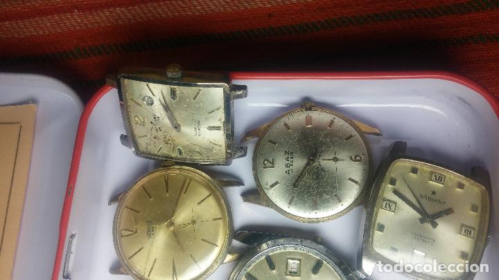 Relojes de pulsera: BOTITO GRAN LOTE DE 18 MAGNÍFICOS RELOJES ANTIGUOS PARA REPARAR O PIEZAS, MUY BARATITO A 10E UNIDAD - Foto 10 - 124334523