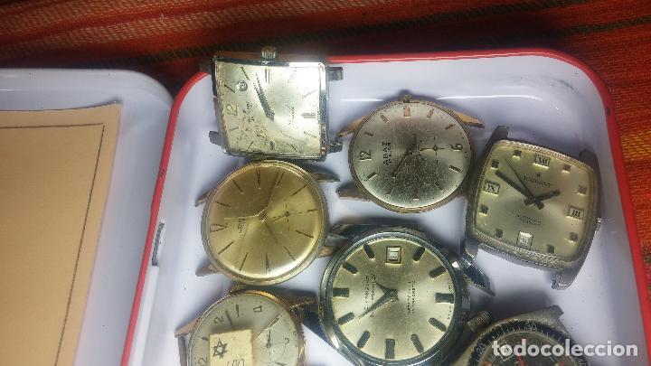 Relojes de pulsera: BOTITO GRAN LOTE DE 18 MAGNÍFICOS RELOJES ANTIGUOS PARA REPARAR O PIEZAS, MUY BARATITO A 10E UNIDAD - Foto 12 - 124334523