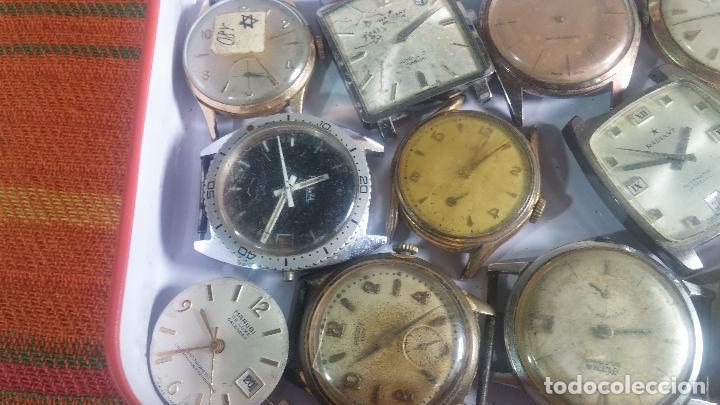 Relojes de pulsera: BOTITO GRAN LOTE DE 18 MAGNÍFICOS RELOJES ANTIGUOS PARA REPARAR O PIEZAS, MUY BARATITO A 10E UNIDAD - Foto 16 - 124334523