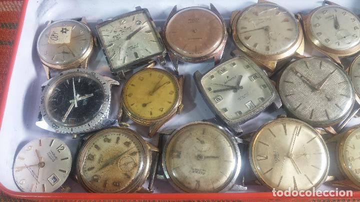 Relojes de pulsera: BOTITO GRAN LOTE DE 18 MAGNÍFICOS RELOJES ANTIGUOS PARA REPARAR O PIEZAS, MUY BARATITO A 10E UNIDAD - Foto 18 - 124334523
