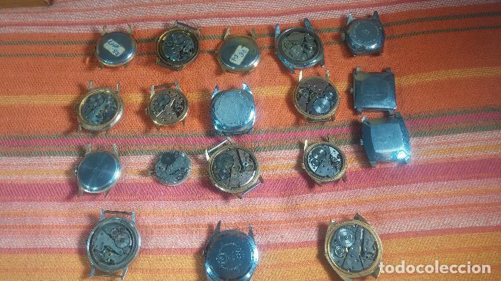 Relojes de pulsera: BOTITO GRAN LOTE DE 18 MAGNÍFICOS RELOJES ANTIGUOS PARA REPARAR O PIEZAS, MUY BARATITO A 10E UNIDAD - Foto 22 - 124334523