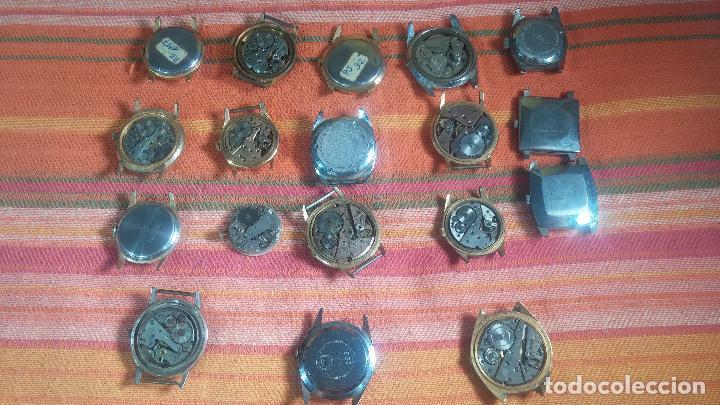 Relojes de pulsera: BOTITO GRAN LOTE DE 18 MAGNÍFICOS RELOJES ANTIGUOS PARA REPARAR O PIEZAS, MUY BARATITO A 10E UNIDAD - Foto 24 - 124334523