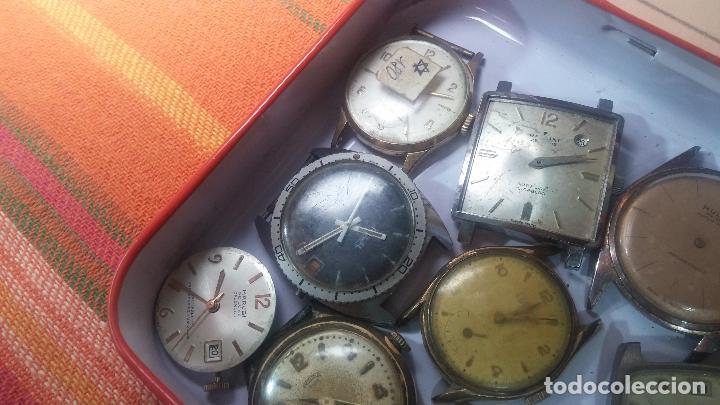 Relojes de pulsera: BOTITO GRAN LOTE DE 18 MAGNÍFICOS RELOJES ANTIGUOS PARA REPARAR O PIEZAS, MUY BARATITO A 10E UNIDAD - Foto 33 - 124334523