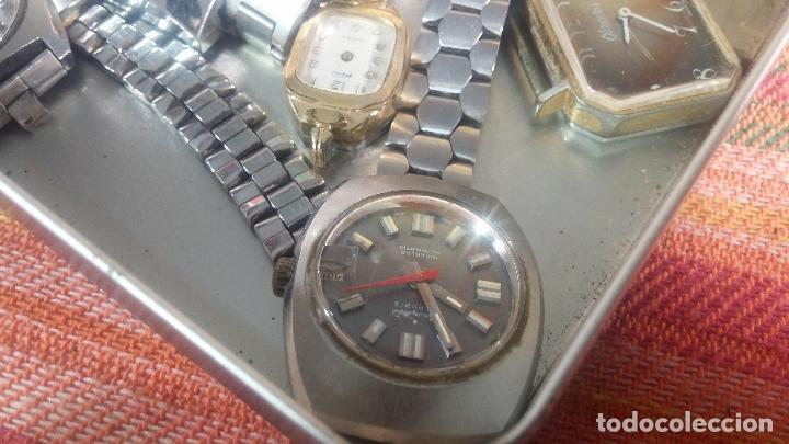 Relojes de pulsera: Botito lote relojero de reloj o relojes variados antiguos para reparar o piezas - Foto 4 - 124339695