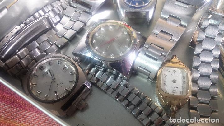 Relojes de pulsera: Botito lote relojero de reloj o relojes variados antiguos para reparar o piezas - Foto 5 - 124339695