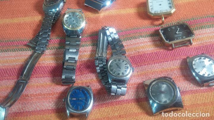 Relojes de pulsera: Botito lote relojero de reloj o relojes variados antiguos para reparar o piezas - Foto 15 - 124339695