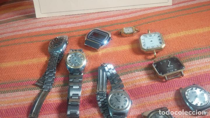 Relojes de pulsera: Botito lote relojero de reloj o relojes variados antiguos para reparar o piezas - Foto 17 - 124339695