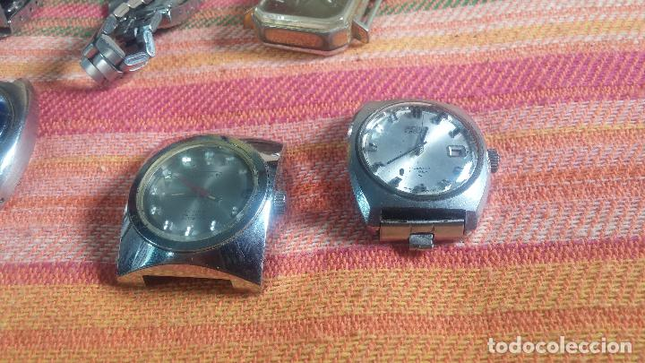 Relojes de pulsera: Botito lote relojero de reloj o relojes variados antiguos para reparar o piezas - Foto 18 - 124339695