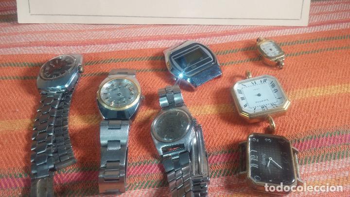 Relojes de pulsera: Botito lote relojero de reloj o relojes variados antiguos para reparar o piezas - Foto 19 - 124339695