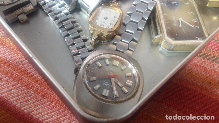 Relojes de pulsera: Botito lote relojero de reloj o relojes variados antiguos para reparar o piezas - Foto 8 - 124339695