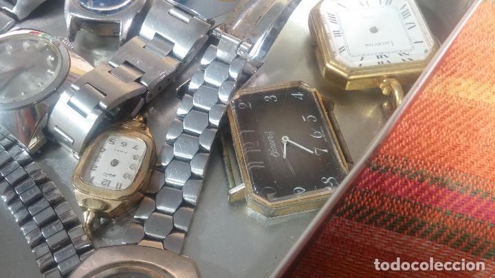 Relojes de pulsera: Botito lote relojero de reloj o relojes variados antiguos para reparar o piezas - Foto 10 - 124339695