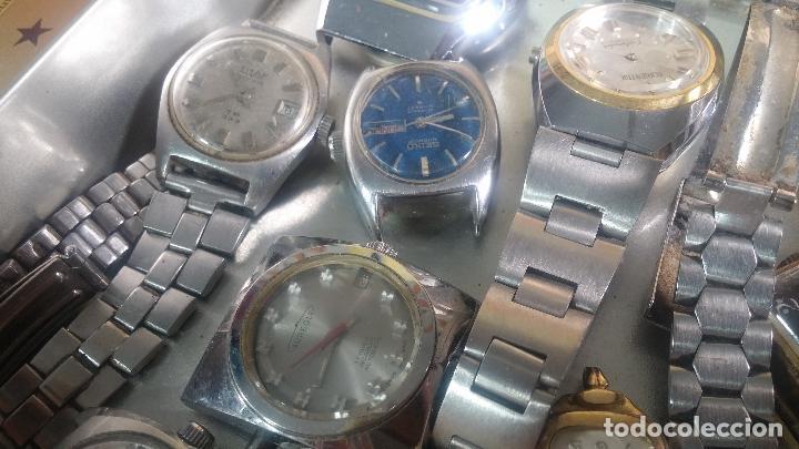 Relojes de pulsera: Botito lote relojero de reloj o relojes variados antiguos para reparar o piezas - Foto 12 - 124339695