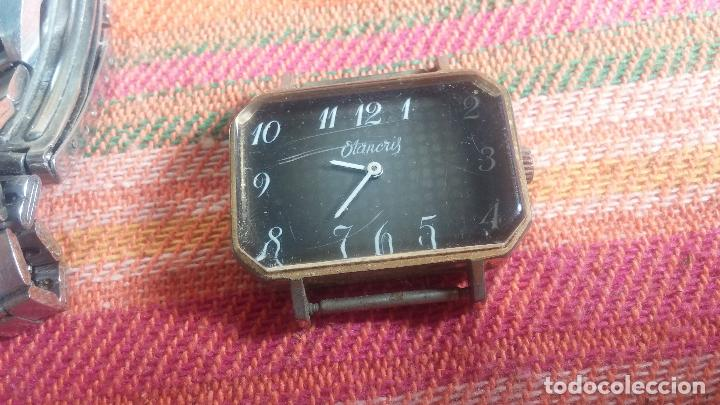 Relojes de pulsera: Botito lote relojero de reloj o relojes variados antiguos para reparar o piezas - Foto 36 - 124339695