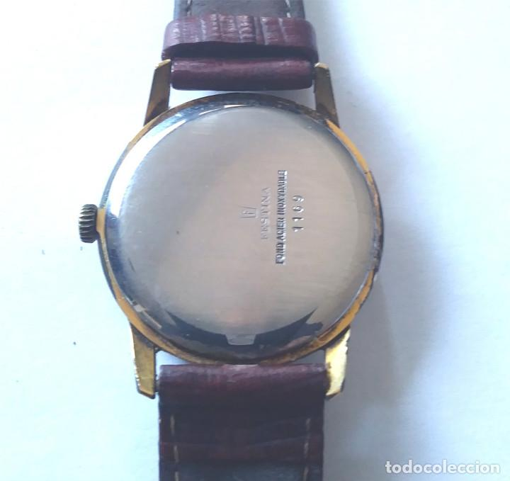Relojes de pulsera: Reloj Festina 17 rubis, funciona, correa de piel. Med 35 mm sin contar corona - Foto 2 - 124390127