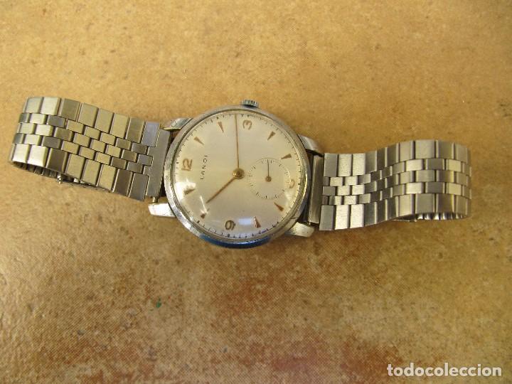 Relojes de pulsera: ANTIGUO RELOJ DE CUERDA DE PULSERA DE LA MARCA LANDI - Foto 6 - 125185223