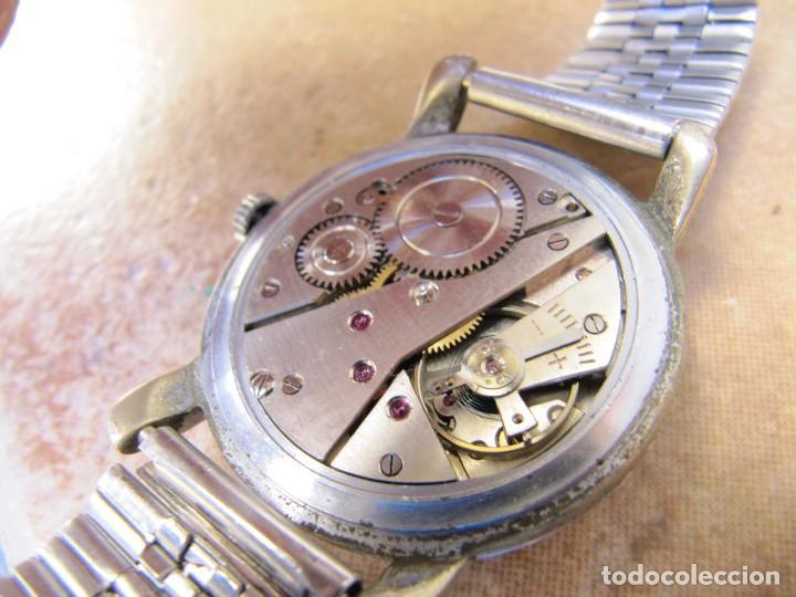Relojes de pulsera: ANTIGUO RELOJ DE CUERDA DE PULSERA DE LA MARCA LANDI - Foto 13 - 125185223