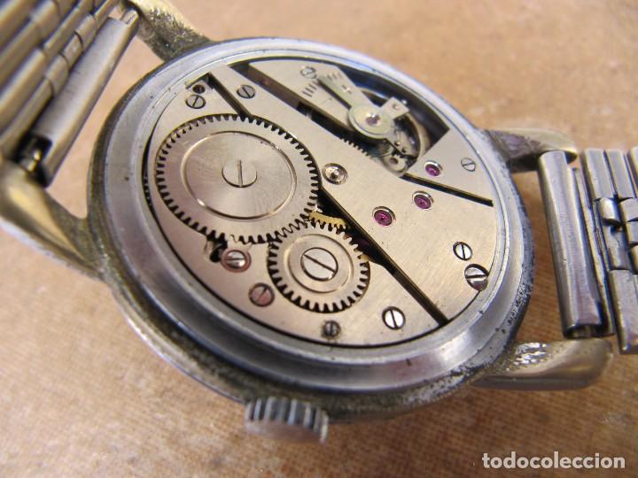 Relojes de pulsera: ANTIGUO RELOJ DE CUERDA DE PULSERA DE LA MARCA LANDI - Foto 14 - 125185223
