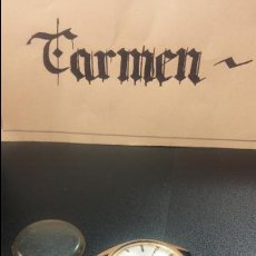 Relojes de pulsera: BOTITO RELOJ DOGMA DE LUXE 17 RUBIS- NO FUNCIONA, PARA REPARAR O PIEZAS. Lote 125244915